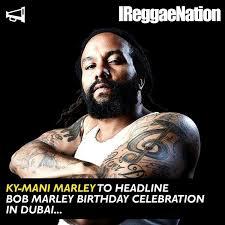 KyMani Marley To Head Big Gig In Dubai Reggae Pinterest Reggae Enchanting Ky Mani Marley Image Quotes