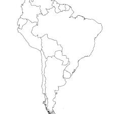 Recent Posts Latin America Blank Map Printable Tendeonline Info