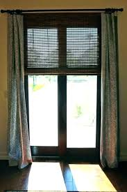 window treatments for doors with half glass door side windows entry front blinds french sliding in