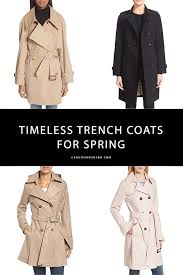 style expert can anderson shares timeless and trendy trench coats for spring 2018 by brands