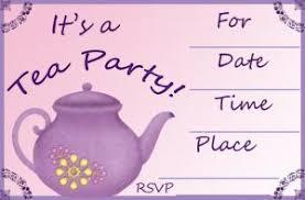 Kids Tea Party Invitation Wording Tea Party Invitation Lovetoknow