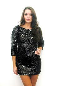 Black Sparkly Dress Plus Size