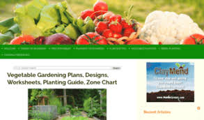 Garden Zone Chart
