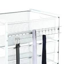 wall mounted belt rack tie racks wall mounted platinum belt rack closets wall mounted tie and belt organizer