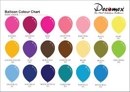 Pastel Color Code Chart Pastel Colour Latex Balloon Factory L Balloon Manufacturer