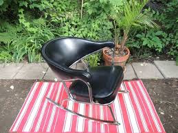 kijiji chaise berçante vintage chrome et vinyl 100
