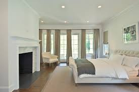 Master Bedroom Curtains Bedroom Traditional With Bed Bedding Drapes  Fireplace. Image By: EB Designs