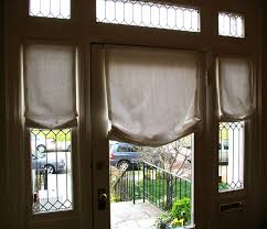 front door sidelight blindsCurtains Drapes and Blinds for a Glass Front Door  Apartment Therapy