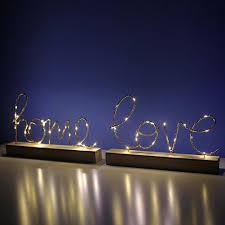 Chữ gỗ có đèn LED trang trí giảm chỉ còn 151,000 đ