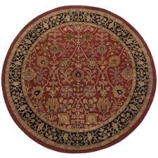 amer cardinal collection fl diamonds area rug 8 round new zealand wool