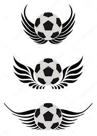 Fotbalový Míč S Křídlem Stock Vektor Beaubelle 3298787