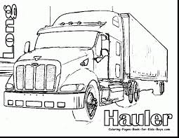 incredible dump truck coloring pages printable with trucks ...