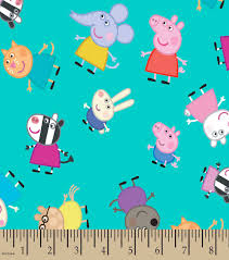 Peppa Pig™ & Friends Print Fabric | JOANN & Peppa Pig™ & Friends Print Fabric Adamdwight.com