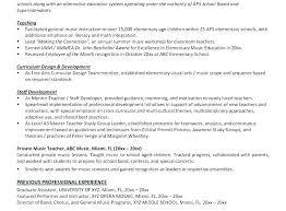 Samples Of Teacher Resumes Resume Template For Teacher Best Sample ...