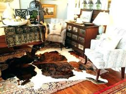 medium size of white cowhide rug in living room small area exotic cow hide brown furniture