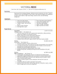 6 Complete Cv Sample Handyman Resume