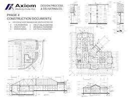 Drawings Site Axiom Architecture Inc Phase 4 Construction Drawings And