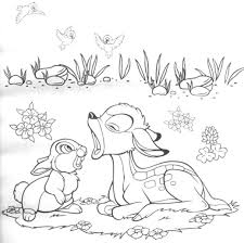 Small Picture Free Printable Bambi Coloring Pages For Kids