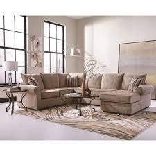 Living Room Chaises Big Cream Chenille Herringbone Sofa Sectional Chaise Living Room
