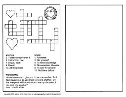 Consonant trigraphs shr, squ, and thr. John 13 34 35 Crossword Printable Childrens Bible Activities Bible Activities For Kids Bible Activities