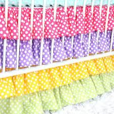 colorful bedding for baby crib rainbow fish rainbow bedding