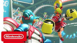 another pretty big game iting the switch on june 16th a fighter titled arms for those that have no interest in tekken or the street fighter 2 switch