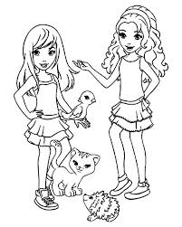 Lego Friends Printables Coloring Pages For Kids And For Adults