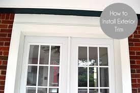 install front doorExterior Door Trim Front Door Trim Front Door Pinterest Front Door