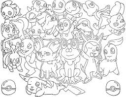 These pokemon coloring pages allow kids to accompany their favorite characters to an adventure land. Piplup Pokemon Coloring Pages Coloring Home