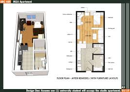 Stunning Tiny Apartment Floor Plans Images Amazing Design Ideas - Loft apartment floor plans