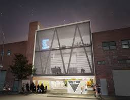 office large size senior. Eye-Popping Bushwick Office Building Will Have Transforming Parking Garage / Concert Venue Large Size Senior