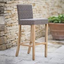 garden trading lymington outdoor rattan bar stool garden trading beut co uk