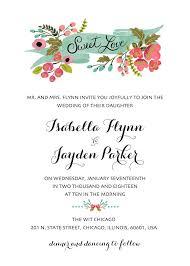 Wedding Invitation Templates With Photo Wedding Invitations