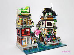 Ninjago City : The Suburbs (An extension to Lego set 70657 Ninjago City  Docks) | Lego ninjago city, Lego projects, Lego minifigure display