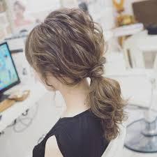 男ウケが良い触覚ヘアポニーテール10選可愛い後れ毛の巻き方と作り方も