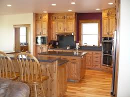 Hickory Kitchen Ideas Hickory Kitchen Cabinets Wood And Home Decor Colors For