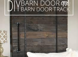 easy diy barn door track. Easy Diy Barn Door Track For Inspiration Ideas DIY And I