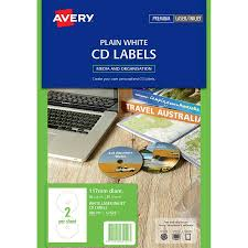 Avery Labels Dvd Avery Laser Labels L7676 2up Cd Dvd Labl5686 Cos Complete
