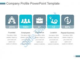 Company Bio Template Awesome Company Profile Powerpoint Template PowerPoint Slide Presentation