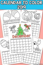 Free printable january 2021 calendars in six different designs. Printable Calendar For Kids 2019 Itsybitsyfun Com