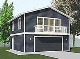 Garage Plans : 2 Car With Full Second Story - 1307-1bapt - 26'