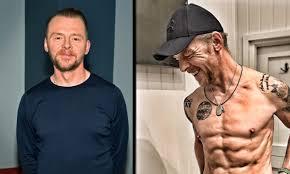 Simon Pegg reveals shocking weight loss body transformation | HELLO!