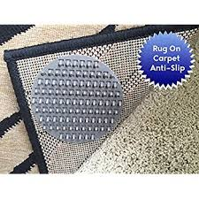stylish how to keep rugs from slipping on carpet com magic stop non slip indoor