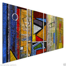 abstract metal wall art modern home decor ruth palmer wall sculpture on modern metal wall art ebay with allmywalls palm00017 ruth palmer abstract metal wall art ebay