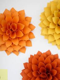 Dahlia Flower Making With Paper Easy Diy Craft Paper Dahlias Hgtv