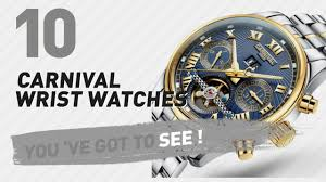 <b>Carnival</b> Wrist <b>Watches</b> For <b>Men</b> // New & Popular 2017 - YouTube