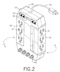 Patent us6897379 rotatable extension cord assembly patents