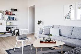 Scandinavian living room with neutral and pastel colors - Top 10 tips for  adding Scandinavian style