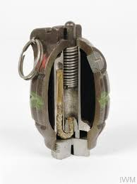 Grenade, hand and rifle, No 36 M Mk 1 (Sectioned)   Imperial War Museums