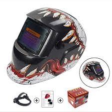 Welding Helmet Designs Amazon Com Bwam Stylish Mouth And Teeth Design Solar